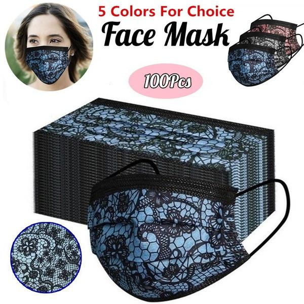 meltblown, Fashion, dustmask, Lace