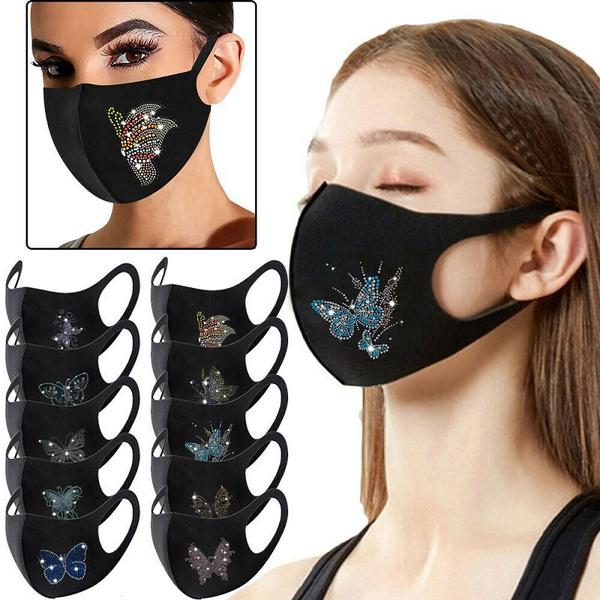 butterfly, Women, Fashion, glittermask
