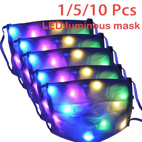 light up, Christmas, lights, luminouslightmask