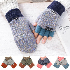 fingerlessglove, Winter, knittedglove, Gel