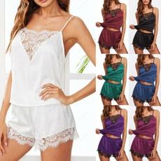 lacecrochet, women's pajamas, nightwear, Plus Size
