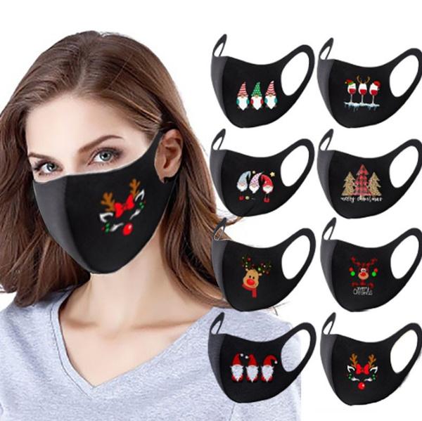 Fashion, mouthmask, Christmas, Festival