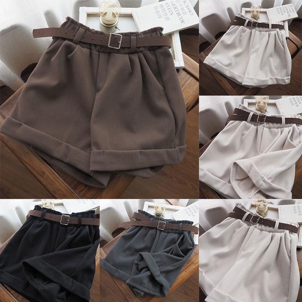 corduroyshort, Fashion Accessory, Shorts, high waist shorts
