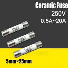 ceramicfuse, lowvoltage, Ceramic, fusetube