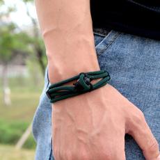 vikingbracelet, biker, Men, rope bracelet