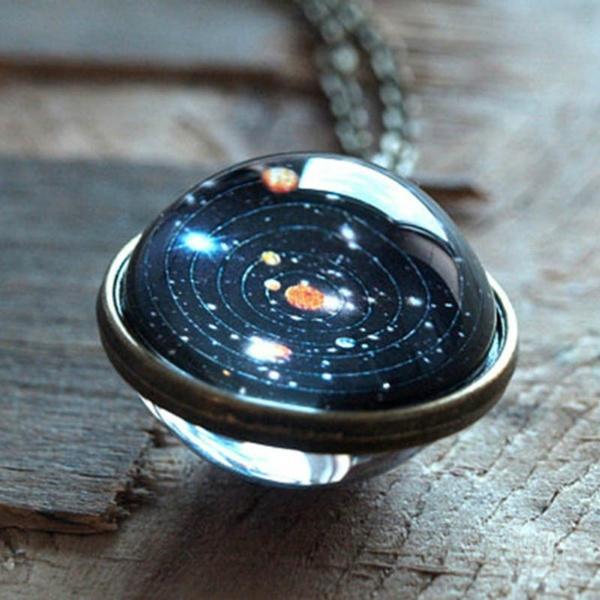 Jewelry, unisex, universe, Sky