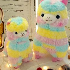 rainbow, Plush Doll, alpacadoll, rainbowdoll