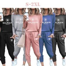 2pieceset, Fashion, pants, Tracksuit women