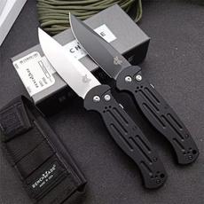 benchmadeafo, switchbladeknife, Aluminum, Spring
