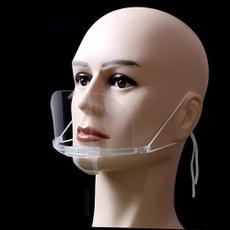 Plastic, transparentmask, Kitchen & Dining, antifogmask