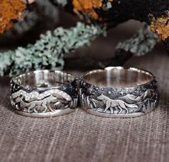 Sterling, Couple Rings, Fashion, wedding ring