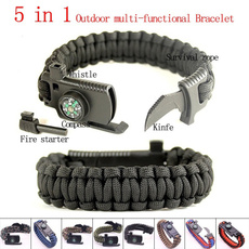 Bracelet, Outdoor, Survival, Outdoor Sports