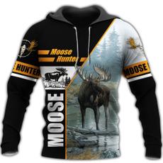 3D hoodies, Fashion, Winter, Hunting