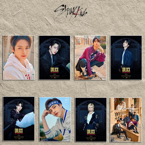 K-Pop, straykid, photoposter, Posters