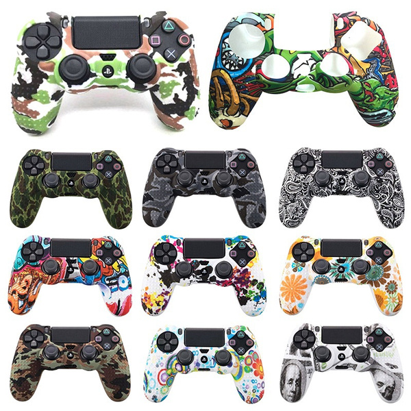 rubbercover, Gaming, ps4slimcamocoverantiskid, ps4hiltcover