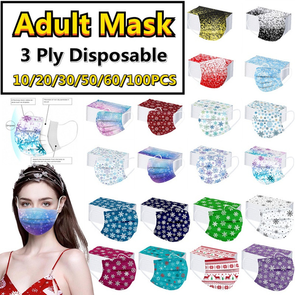 Outdoor, Christmas, Masks, disposable