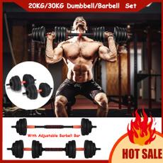 adjustabledumbell, weightlifting, dumbellsweightset, Fitness