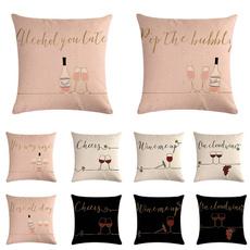 pillowcover18x18, Home Decor, Glass, Pillowcases