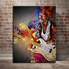 Home & Kitchen, art, guitarist, Wall Art