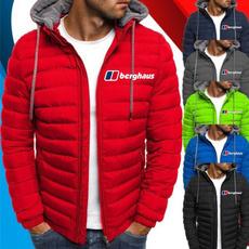 casual coat, Jacket, Fashion, berghauszippercoat