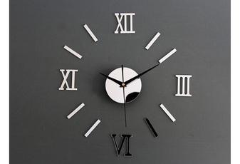 Clock, Home & Living, Wall Decal, Modern