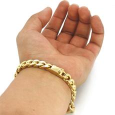 goldplated, gold bracelet, gold, 14k
