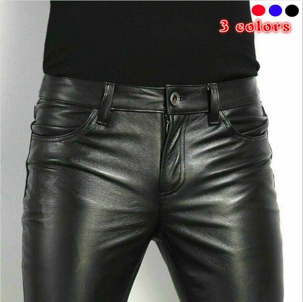 Fashion, pants, leather, Spring