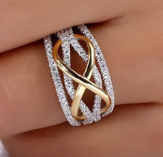 Sterling, Heart, crystal ring, Love