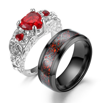 Couple Rings, Valentines Gifts, gemstone rings, Gifts