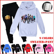 Cotton, childrenshoodie, hooded, Suits