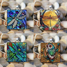 Owl, insectjewerly, lover gifts, dragon fly
