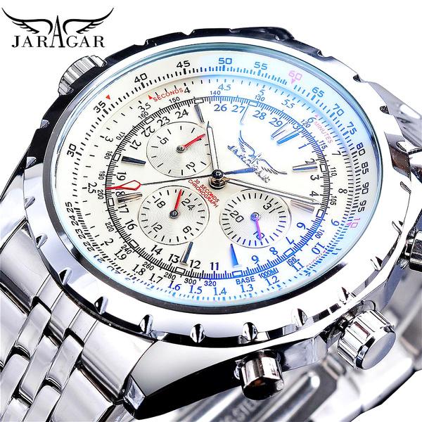 Chronograph, Blues, Fashion, classic watch