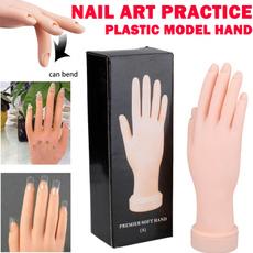 Uñas, fakehand, Manicure Set, Belleza