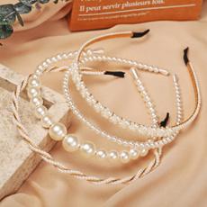 Head, Fashion, headwear, pearls