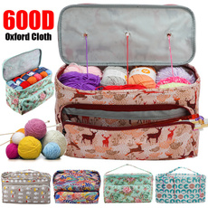 Knitting, crochetinghooktote, yarnstoragebag, Sewing