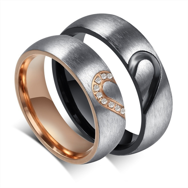 Couple Rings, men_rings, DIAMOND, Love