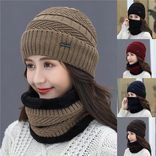 knittedtubescarve, Thicken, Fleece, Fashion