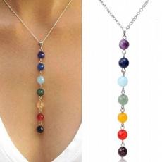 agatenecklace, Yoga, Jewelry, Chain