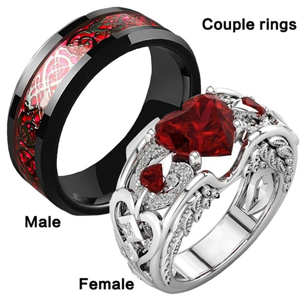 Sterling, Steel, Plus Size, 925 silver rings