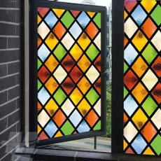DIAMOND, stainedfrostedglasswindowfilm, Glass, Stickers