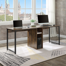 writingdesk, brown, workstation, Computers