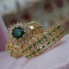 Beautiful, Moda, wedding ring, gold