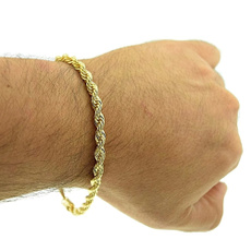 Rope, shopping, Jewelry, gold