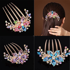 DIAMOND, headdress, haircareandstyling, diamondinsertcombhair