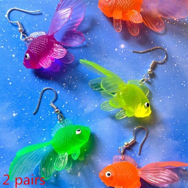 Jewelry, fish, Novelty, Plastic