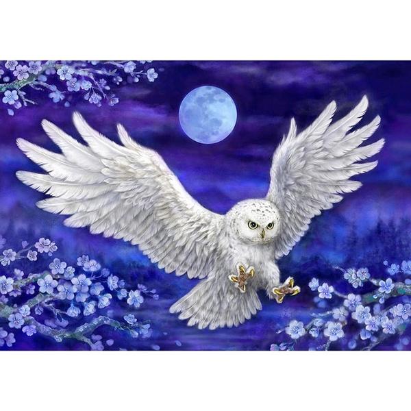 Owl, DIAMOND, Home Decor, Craft Kits