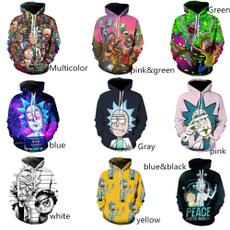 morty, Fashion, Printing, rick