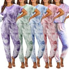Sleeve, sleepwearset, Tracksuit women, Women's Fashion