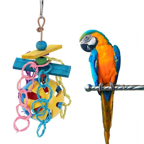 hangingparrottoy, parrotchewingtoy, petssupplie, birdtoy