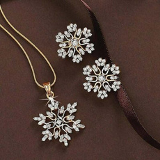 Sterling, Fashion, sterling silver, snowflakenecklace
